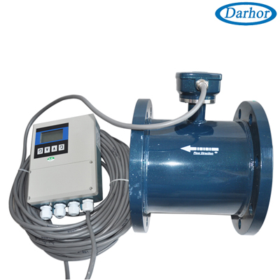 DH1010 romote control type flowmeter mag..